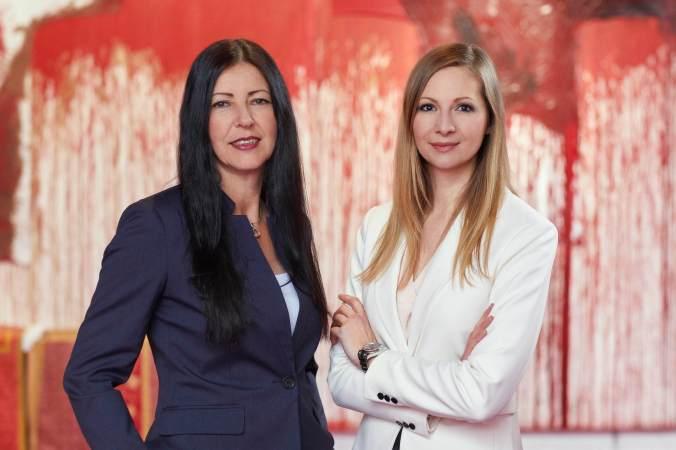 Brigitte Seiler und Rita Stern