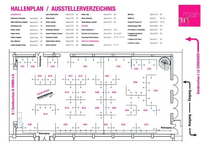 Hallenplan:Aausstellerverzeichnis_MainArt