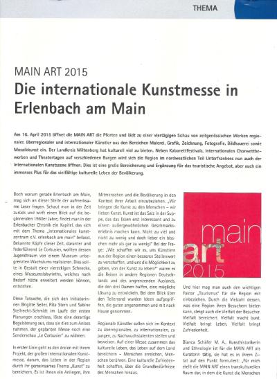 IHK Wirtschaft am bayerischen Untermain 10/2014