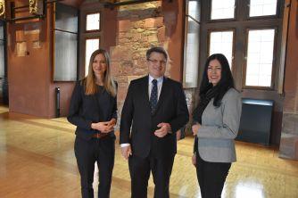 Rita Stern, Dr. Winfried Bausback, Brigitte Seiler